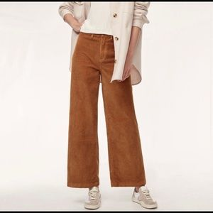 Aritzia Wilfred Free Haley Corduroy Pants